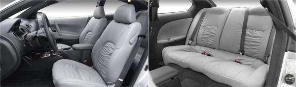 2001 Sebring interior