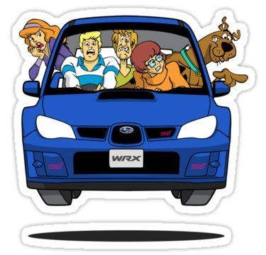 6 - Scoobies in a Subie