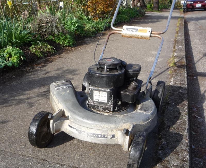 old briggs and stratton lawn mower. lawnside classics: the old briggs and stratton 3 hp gets a new ignition coil \u2013 lawn boy needs something bit more serious mower