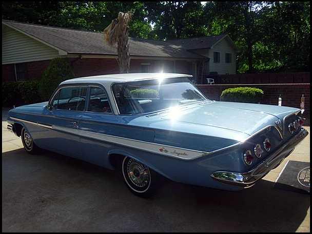 Chevrolet 1961 impala 2 door