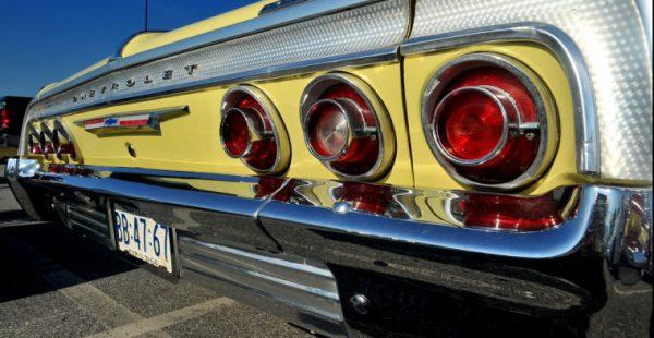 Chevrolet 1964 Impala SS tail lights