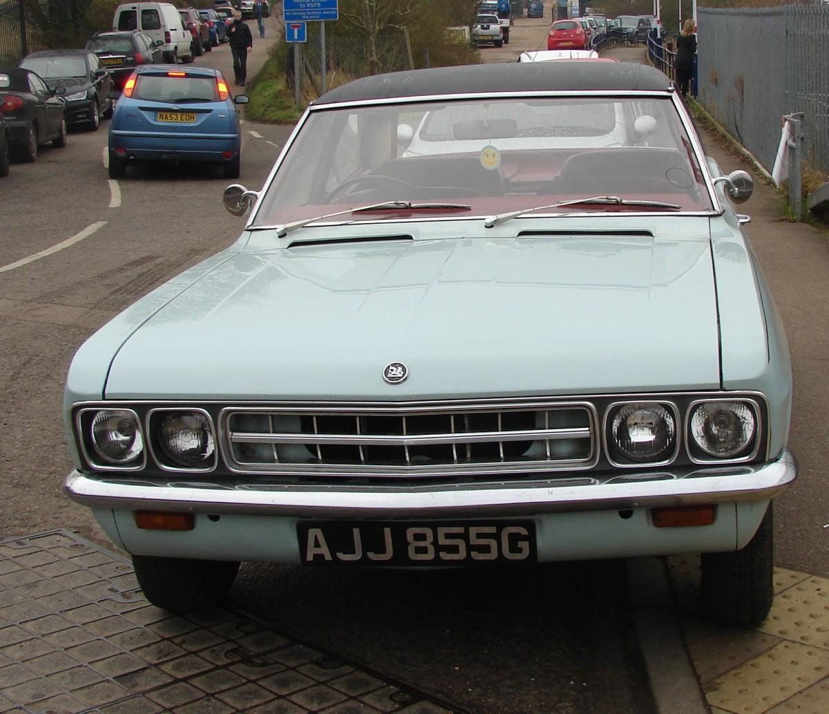 Curbside Capsule: 1969 Vauxhall Ventora (FD Series