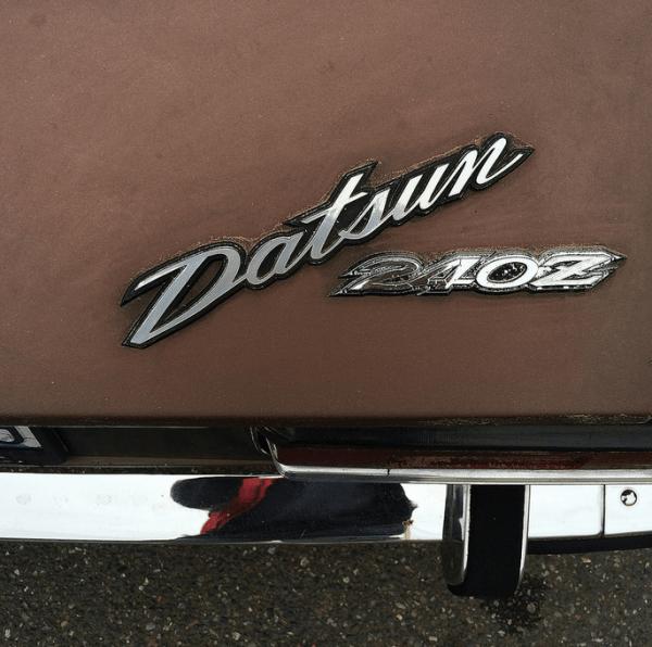 Datsun 1971 240 Z emblem