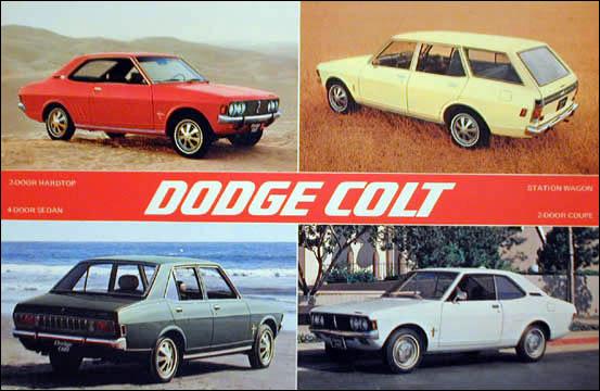 Dodge Colt 1972 ad