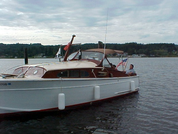 27 Foot Post War Elco Sport Cruiser