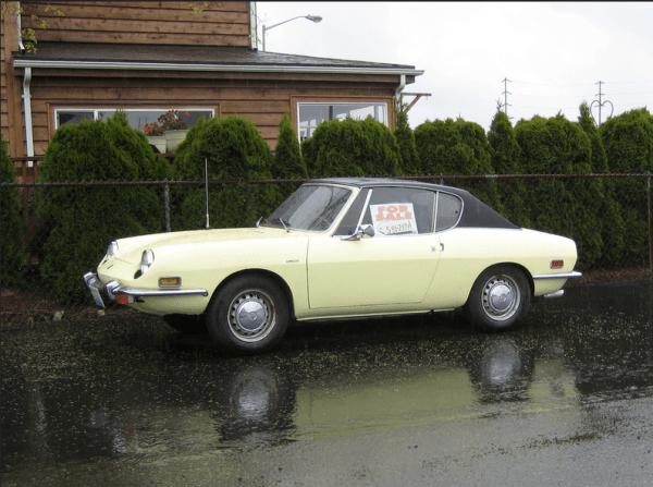 Fiat 850 Racer berlinetta bertone