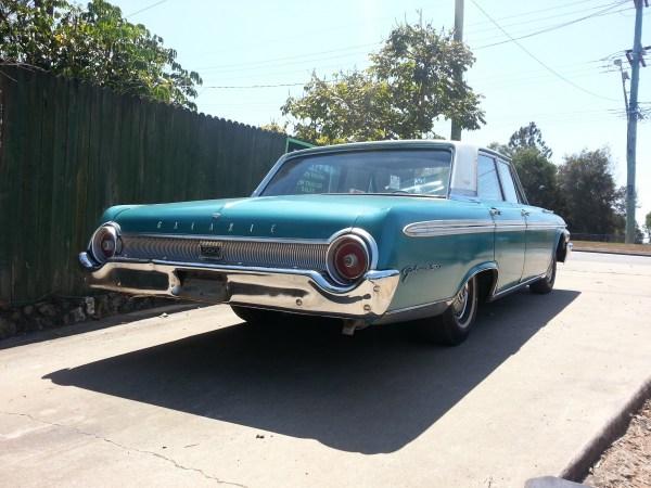 Ford 1962 Galaxie rear
