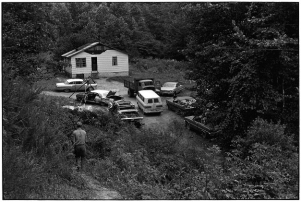 Gedney house and cars 1972