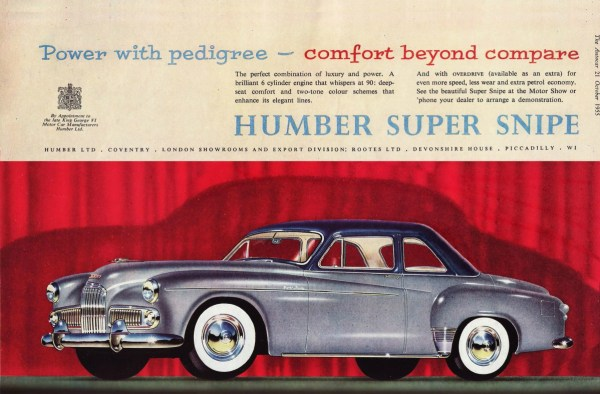 Humber Super Snipe coupe