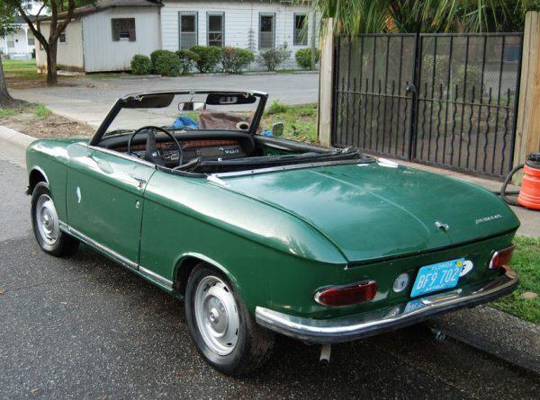 Peugeot 204 1970 -Cabriolet-Rear