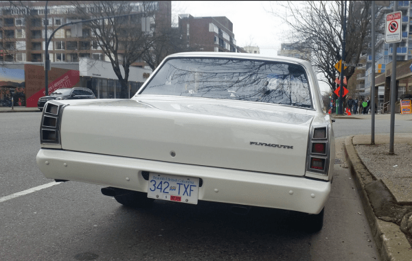 Plymouth Valiant 1968 valiant rear
