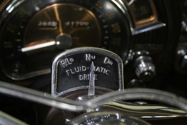 Early Chrysler M-6 Semi-Automatic Shift Quadrant (R Lo Nu Dr).