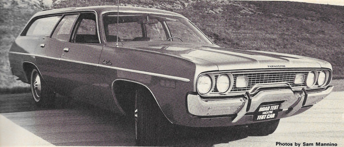 Vintage Review: 1971 Plymouth Satellite Custom Wagon – Road