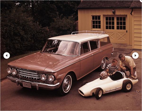 Rambler 1962 classic wagon 1