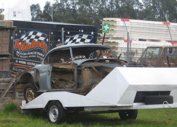 Winton Raceway mystery car