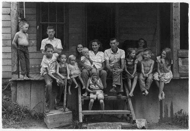 gedney Cornett family 1964