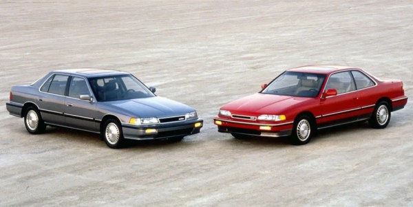1988 Legend sedan and coupe