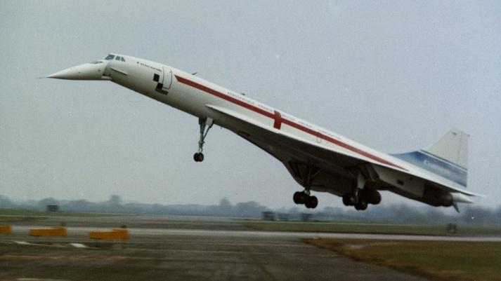 Aeronautica Collectables 1963 Original Bae Photo Concorde Mock Up Filton