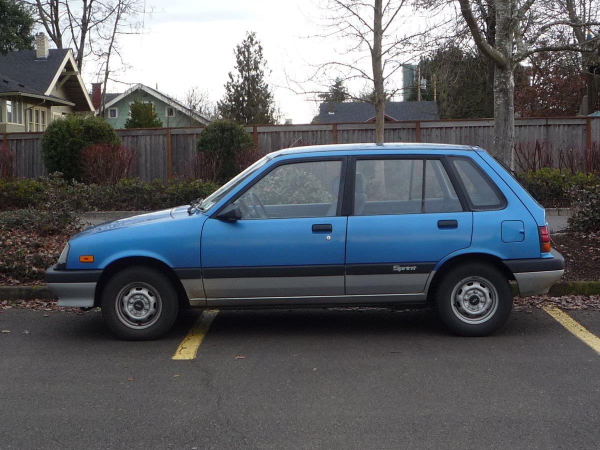 Chevy Sprint Parts Car
