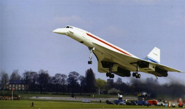 Concorde 002 maiden flight 9th April 1969