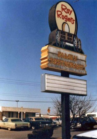 Fairfax Roy Rogers sign 1980