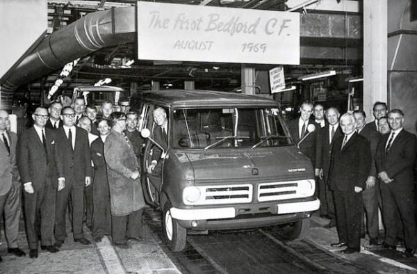 First Bedford CF van
