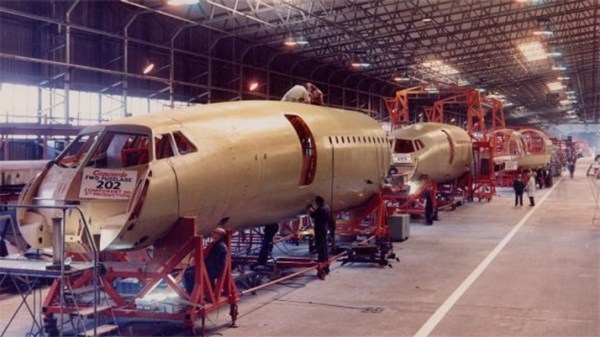 Fuselage production 2