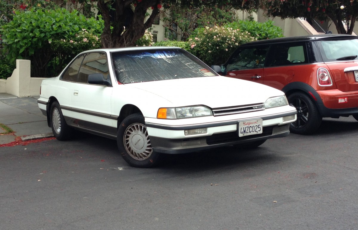 Curbside Classic: 1988 Acura Legend Coupe – Precision Crafted Performance