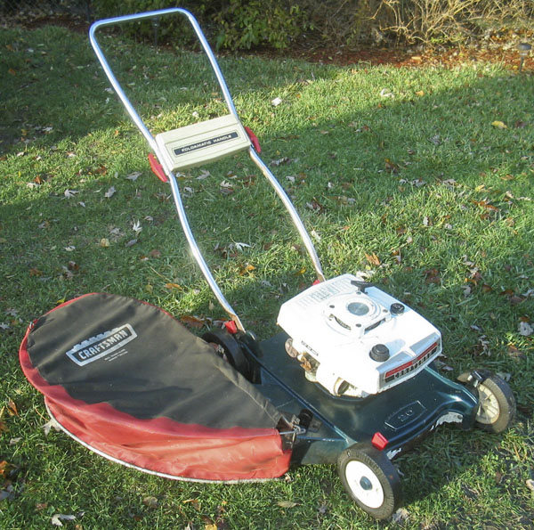 Old Craftsman Lawn Mowers : Old craftsman mower redux