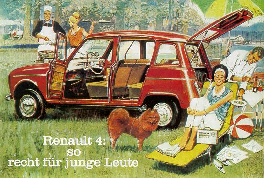 Renault R4 ad