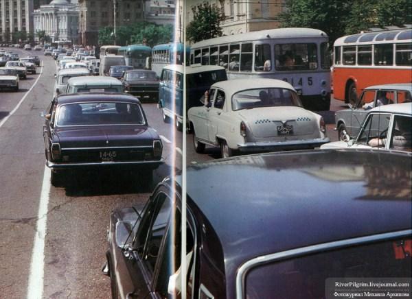 USSR traffic