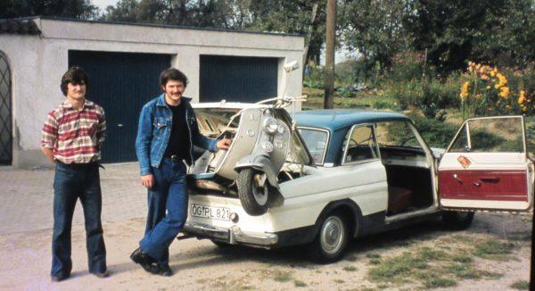 Willy's Taunus 12 M with Lambretta