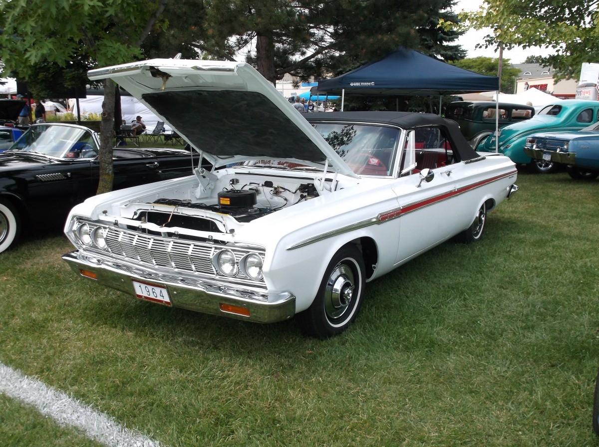 Car Show Classic 1964 Plymouth Fury Convertible Bridging The Great Divide Curbside Classic