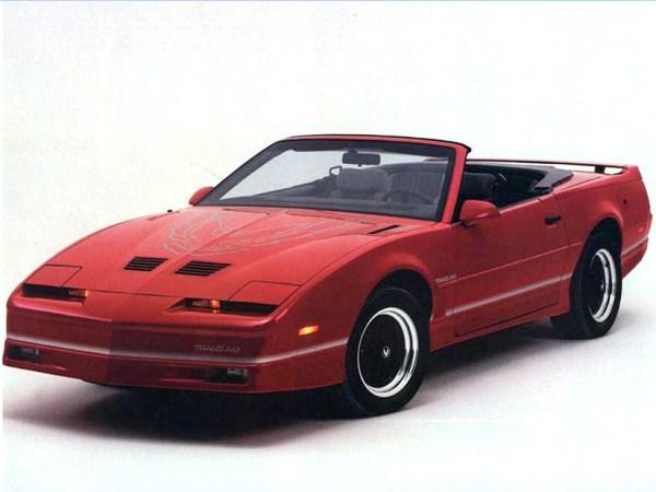 1987 Trans Am ASC Convertible 3