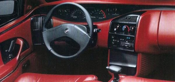 1992 buick skylark interior