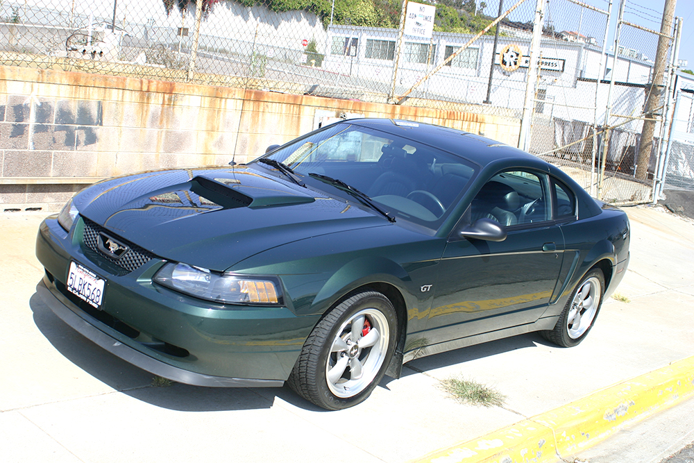 Coal 2001 Ford Mustang Bullitt Objects In Mirror Are Losing Curbside Classic