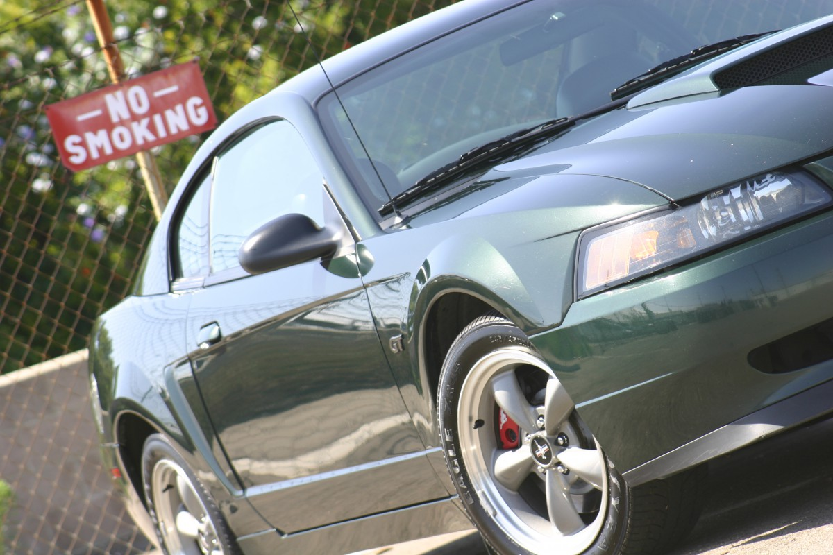 Coal 2001 Ford Mustang Bullitt Objects In Mirror Are Losing