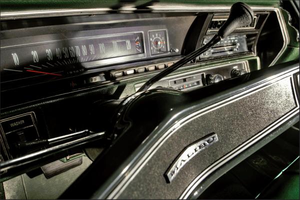 CP 1970 Malibu dash