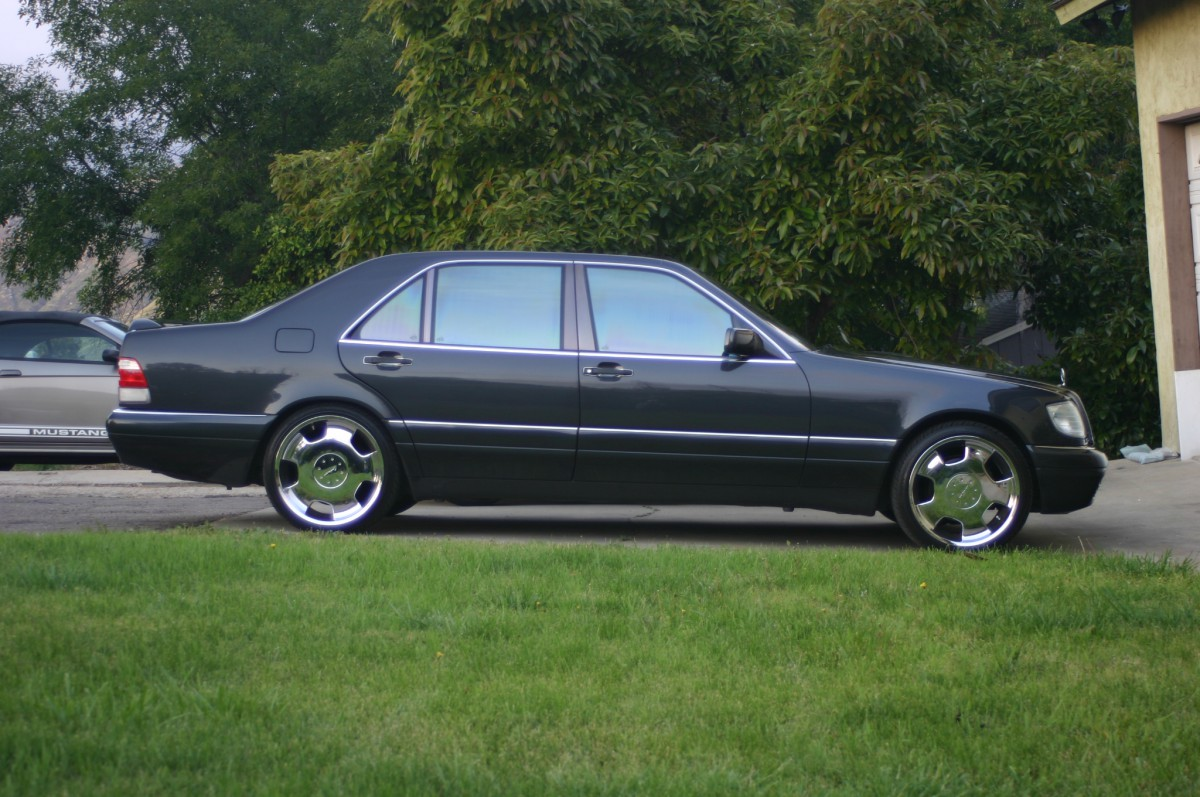 Coal 1995 Mercedes Benz S420 Gambling On A High Mileage German Timing Belt 2001 Mustang Bullitt My Partner James Had His And I Gt Convertible Having Mustangs Would Not Last For Very