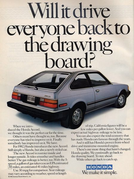 honda accord 1982 hatchback simple lx coal simpler kei identities twin concept junkyard stung ever got flashy plugs spark extra