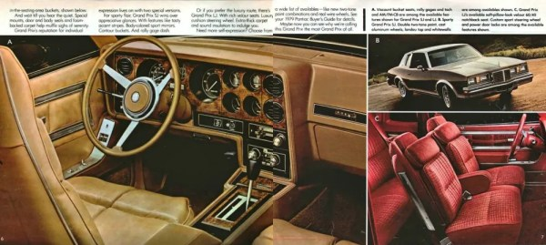 1979 Pontiac Grand Prix brochure 2 full-width CC