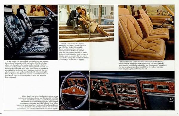 1979 new yorker interior