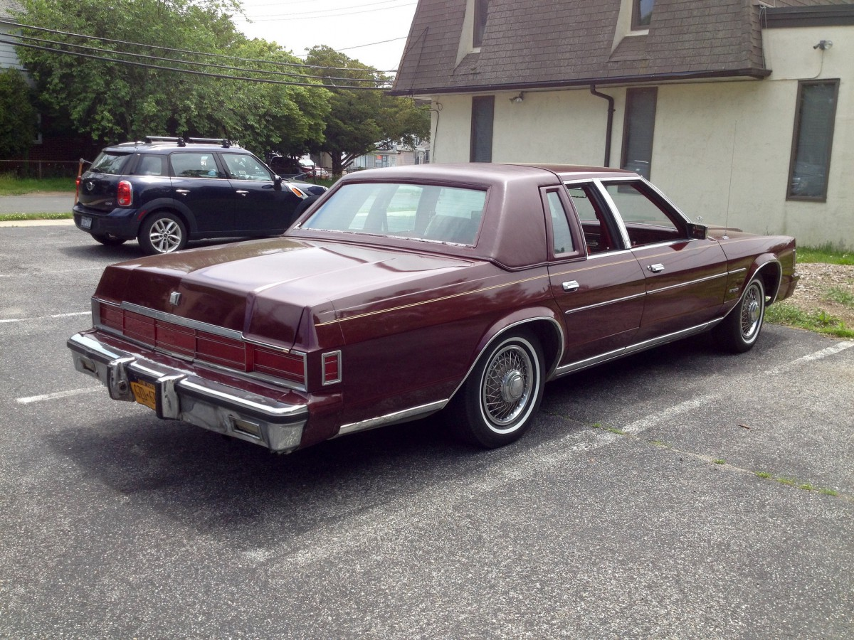 Curbside Classic 1981 Chrysler New Yorker Failure Can