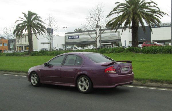 Falcon XR6 Menace purple