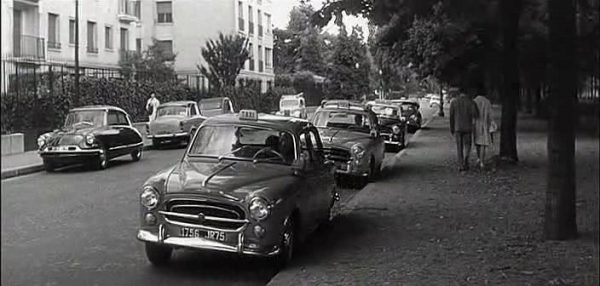 Peugeot 403 taxis