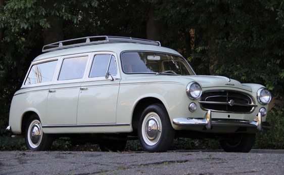 Peugeot 403 wagon roof rack