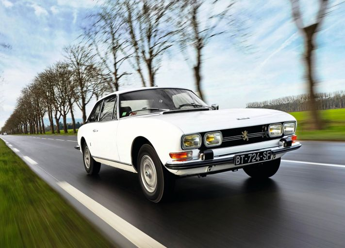 peugeot 504 coupe white drive. Black Bedroom Furniture Sets. Home Design Ideas