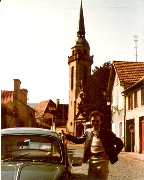 VW 1300, Alsace France