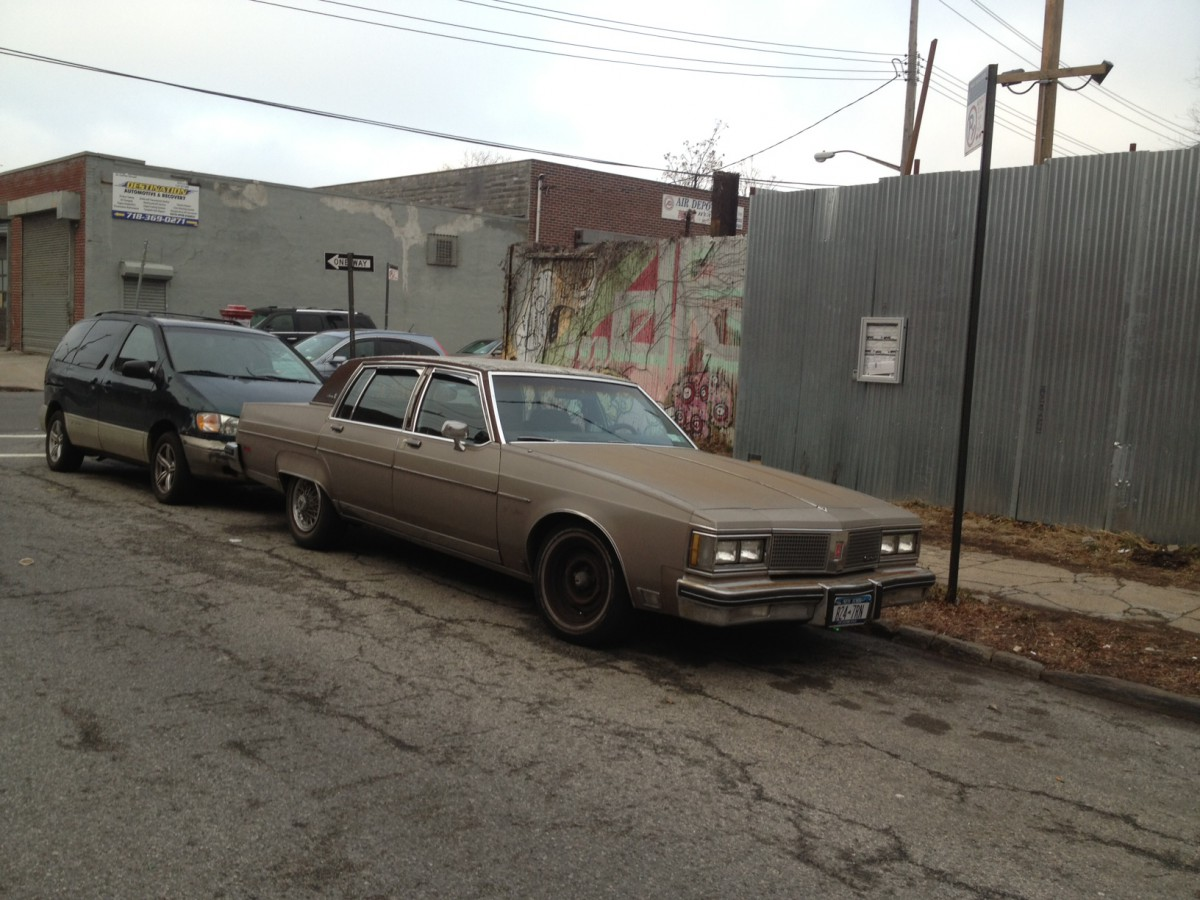 Curbside Classic Oldsmobile Ninety Eight An Ode To Full