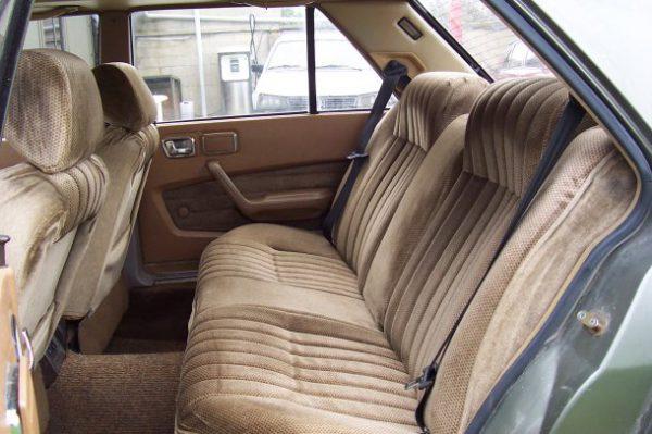 peugeot 604 rear-compartment